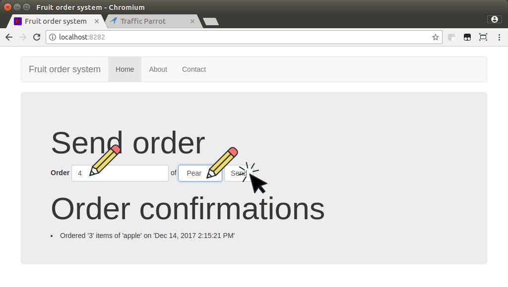 Send new order
